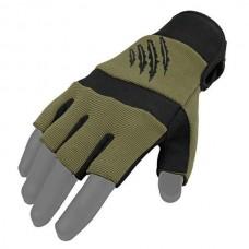 Рукавички без пальців Kevlar Nomex Armored Claw олива