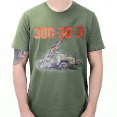 Футболка 300-30-3 БМ-21 Град хакі