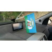 Флажок в авто 79 бригада ВДВ з девизом В Єднанні Сила!