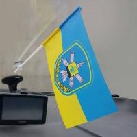 Флаг 156 зенітний ракетний полк Золотоноша флажок в авто (чи інший)
