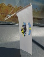 Автомобільний прапорець 16 ОМПБ Полтава
