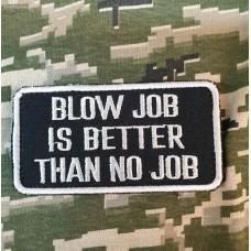 Патч blow job is better than no job (чорний)