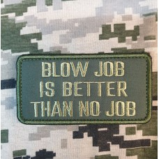 Патч blow job is better than no job (олива)