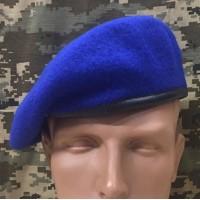 Берет НГУ синій
