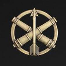Беретний знак Протиповітряної оборони та зенітно-ракетних військ ЗСУ