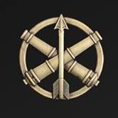 Купить Беретний знак Протиповітряної оборони та зенітно-ракетних військ ЗСУ  в интернет-магазине Каптерка в Киеве и Украине