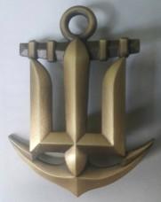 Беретний знак Військово-Морських Сил ЗСУ