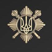 Беретний знак Окремого Київського полку Президента України АКЦІЯ