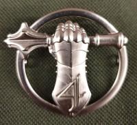 Беретний знак 4 БрОП НГУ, танковий батальйон