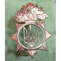 Беретний знак Національна Гвардія України АКЦІЯ