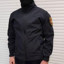 Куртка софтшел БЛОКПОСТ NAVY BLUE