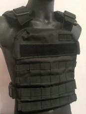 Черный чехол бронежилета, облегченный, с молле ТМ Блокпост