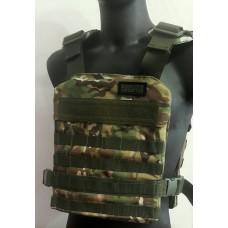 Легкий чехол бронежилета с молле Мультикам ТМ Блокпост