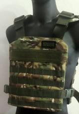 Купить Легкий чехол бронежилета Мультикам ТМ Блокпост  в интернет-магазине Каптерка в Киеве и Украине