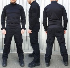 Купить Брюки черные для полиции и охраны ТМ Блокпост в интернет-магазине Каптерка в Киеве и Украине