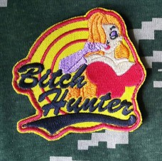 Купить Шеврон Bitch Hunter (Blonda) в интернет-магазине Каптерка в Киеве и Украине