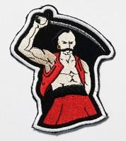 Шеврон Козак з шаблею