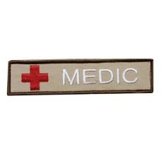 Нашивка MEDIC coyot