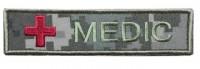 Нашивка Medic з хрестом УКРПІКСЕЛЬ