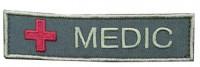 Нашивка Medic з хрестом ОЛИВА