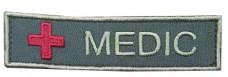 Нашивка Medic з крестом ОЛИВА