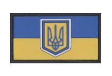 Патч флаг Украины 50х37мм ПВХ