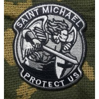 Шеврон Saint Michael Protect Us