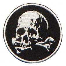 Шеврон череп и кости