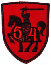 Купить 54 окрема механізована бригада шеврон красный в интернет-магазине Каптерка в Киеве и Украине