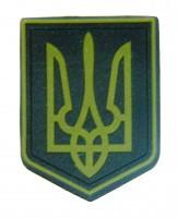 Нашивка герб України ПВХ M-TAC Олива