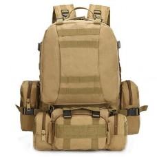 50л рюкзак с подсумками и сумкой в комплекте Silver Knight Coyote