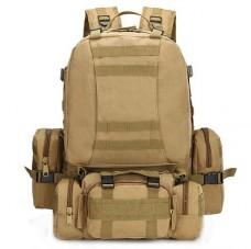 Купить 50л рюкзак з підсумками та сумкою в комплекті Coyote в интернет-магазине Каптерка в Киеве и Украине