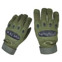 Тактичні рукавиці з захистомкісточок Олива