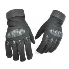 Тактичні рукавиці з захистом кісточок Чорні