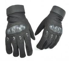 Купить Тактичні рукавиці з захистом кісточок Чорні в интернет-магазине Каптерка в Киеве и Украине