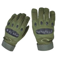 Тактичні рукавиці з захистом кісточок Олива