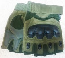 Тактичні рукавички без пальців з накладкамиERGO Olive Спеціальна АКЦІЯ до відкриття нового магазину!