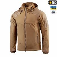 Куртка M-Tac Norman Windblock Fleece COYOTE фліс-софтшелл