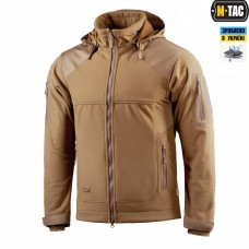 Куртка M-Tac Norman Windblock Fleece COYOTE флис-софтшелл