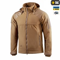 Куртка M-Tac Norman Windblock Fleece COYOTE флис-софтшелл