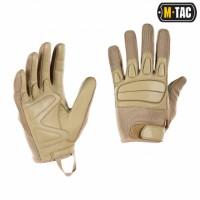 Перчатки M-TAC ASSAULT TACTICAL MK.2 KHAKI кожа