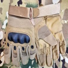 Тактичні рукавиці Carbon (койот)