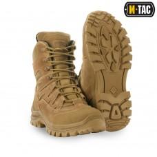 Зимові тактичні черевики M-TAC MK.2W R GEN.II COYOTE утеплювач Foitex