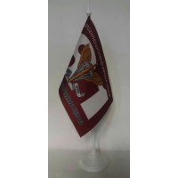 81 бригада ДШВ флаг цвета марун настольный