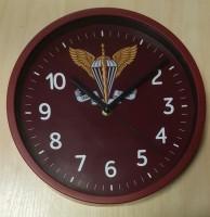 Настенные часы с новой эмблемой Десантно Штурмовых Войск Украины