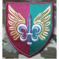 Шеврон 132 Окремий Розвідувальний Батальйон ДШВ ЗСУ