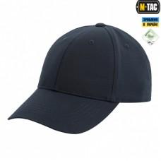 Бейсболка темно-синего цвета M-TAC Elite Flex рип-стоп Dark Navy Blue