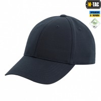 Бейсболка темно-синего цвета M-TAC Elite Flex рип-стоп Dark Navy Blue