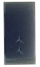 Погон Головний майстер-сержант ДСНС (синій) Універсальний - муфта-липучка