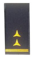 Погони Головний майстер-сержант ДСНС (жовтий) Універсальний - муфта-липучка